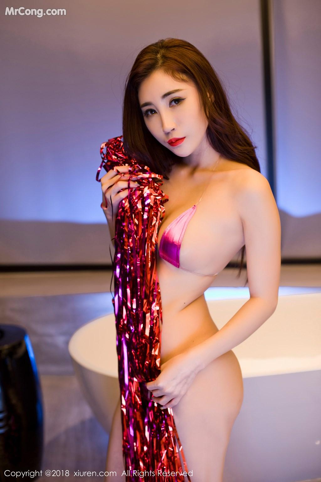 Image XIUREN-No.916-Sun-Meng-Yao-V-MrCong.com-001 in post XIUREN No.916: Người mẫu Sun Meng Yao (孙梦瑶V) (47 ảnh)