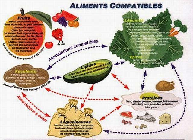 Bien connu Les combinaisons alimentaires, des choix sensés. RJ31