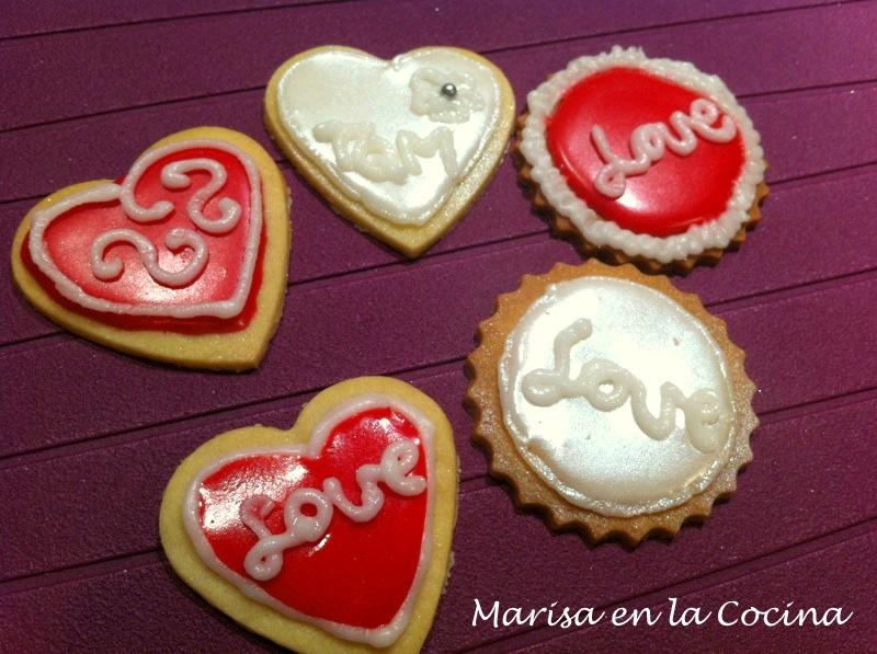 Galletas De San Valentín Primeras Galletas Decoradas
