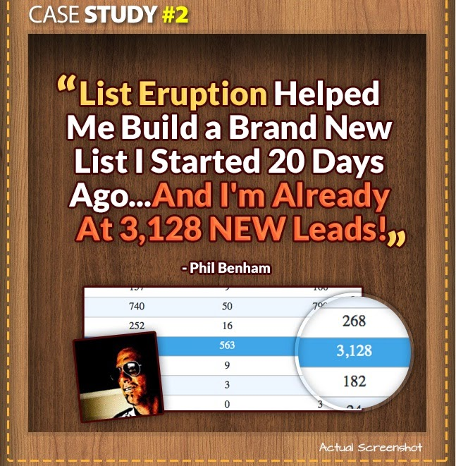 Case study of List Eruption