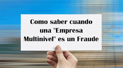 Empresa Multinivel Fraude