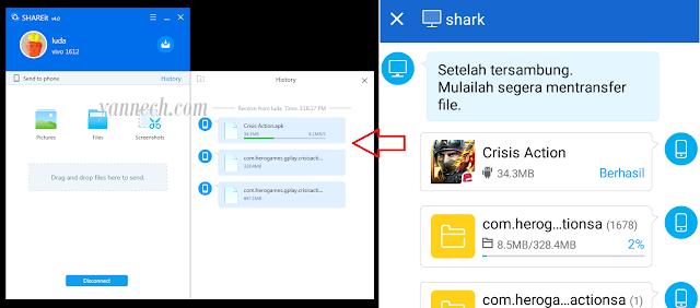 Cara Kirim File Hp Ke Komputer Menggunakan SHAREit