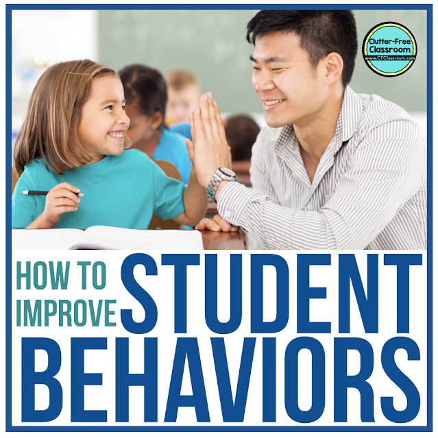 Are you looking for ways to improve positive student behavior and easily communicate with parents daily? Check out these behavior management and parent communication ideas from the Clutter Free Classroom including behavior plans, logs, charts, notes, forms, apps, sheets, tools, websites, and posts.