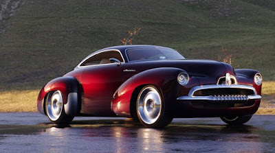 Holden Efijy Concept Model Car  Front Right