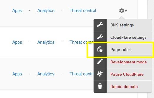 Cloudflare para optimización, aceleración