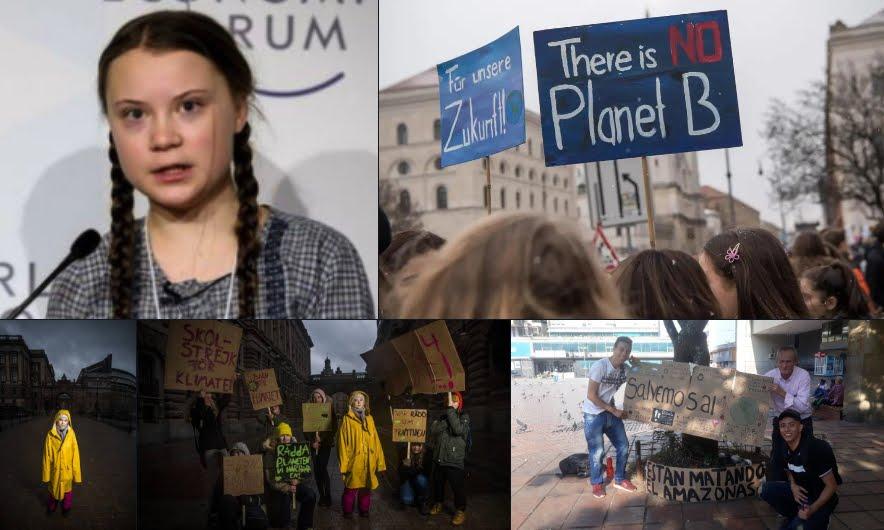 Greta Thunberg contro il Cambio Cliamtico: studenti in piazza per la Terra il 15 Marzo.