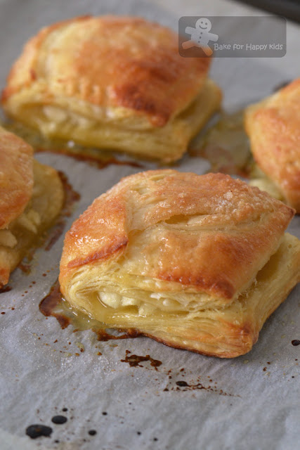 flaky apple turnover homemade puff pastry