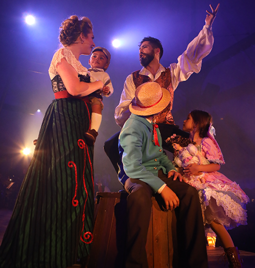 Ragtime, The Musical at Serenbe Playhouse