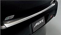 move custom la100s Rear bumper step guard
