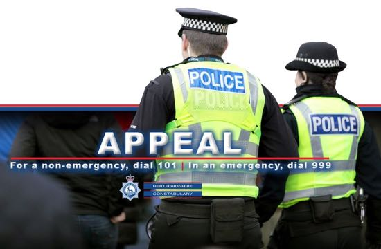 Herts Police crime appeal image
