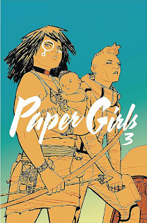 Paper Girls tom 3 okładka