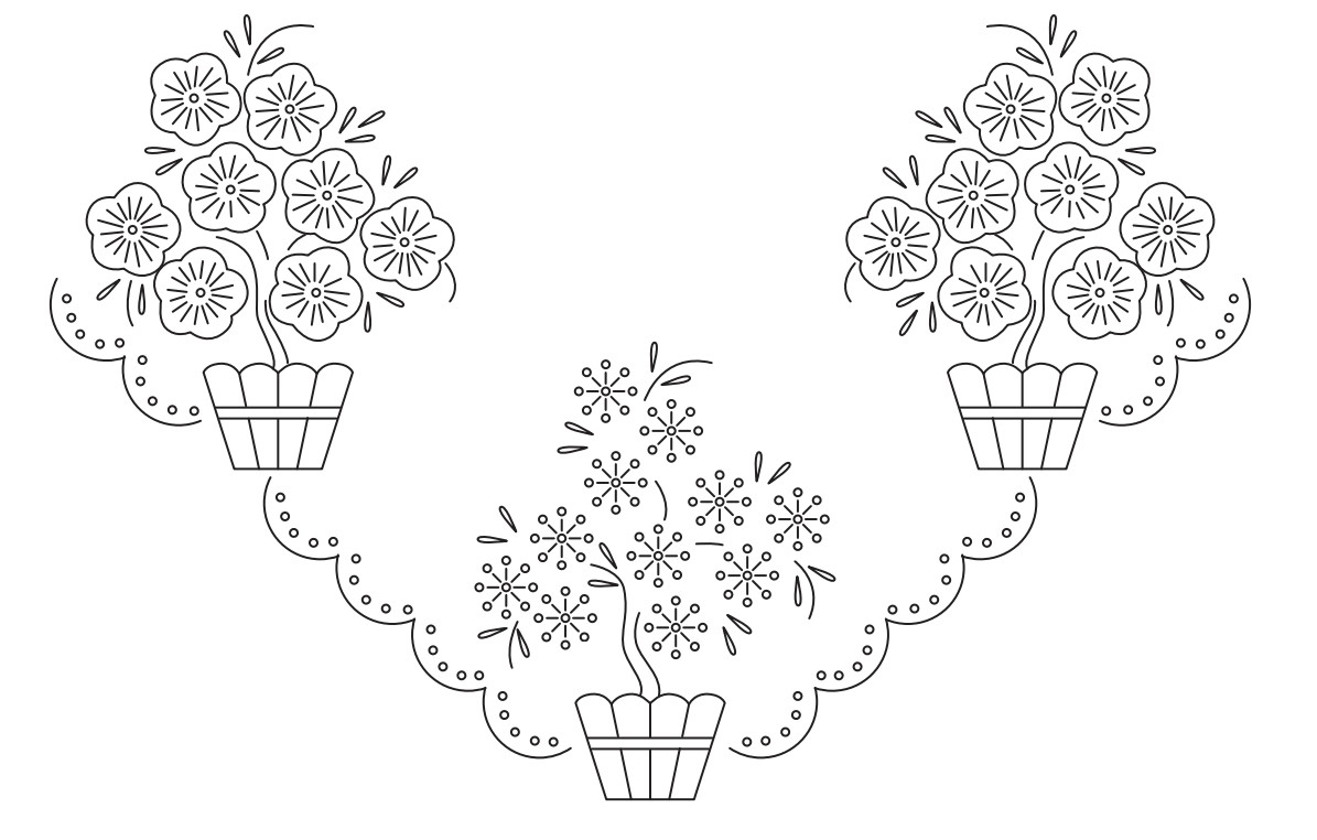 Flores Para Pintar Y Bordar - globeooffer.com