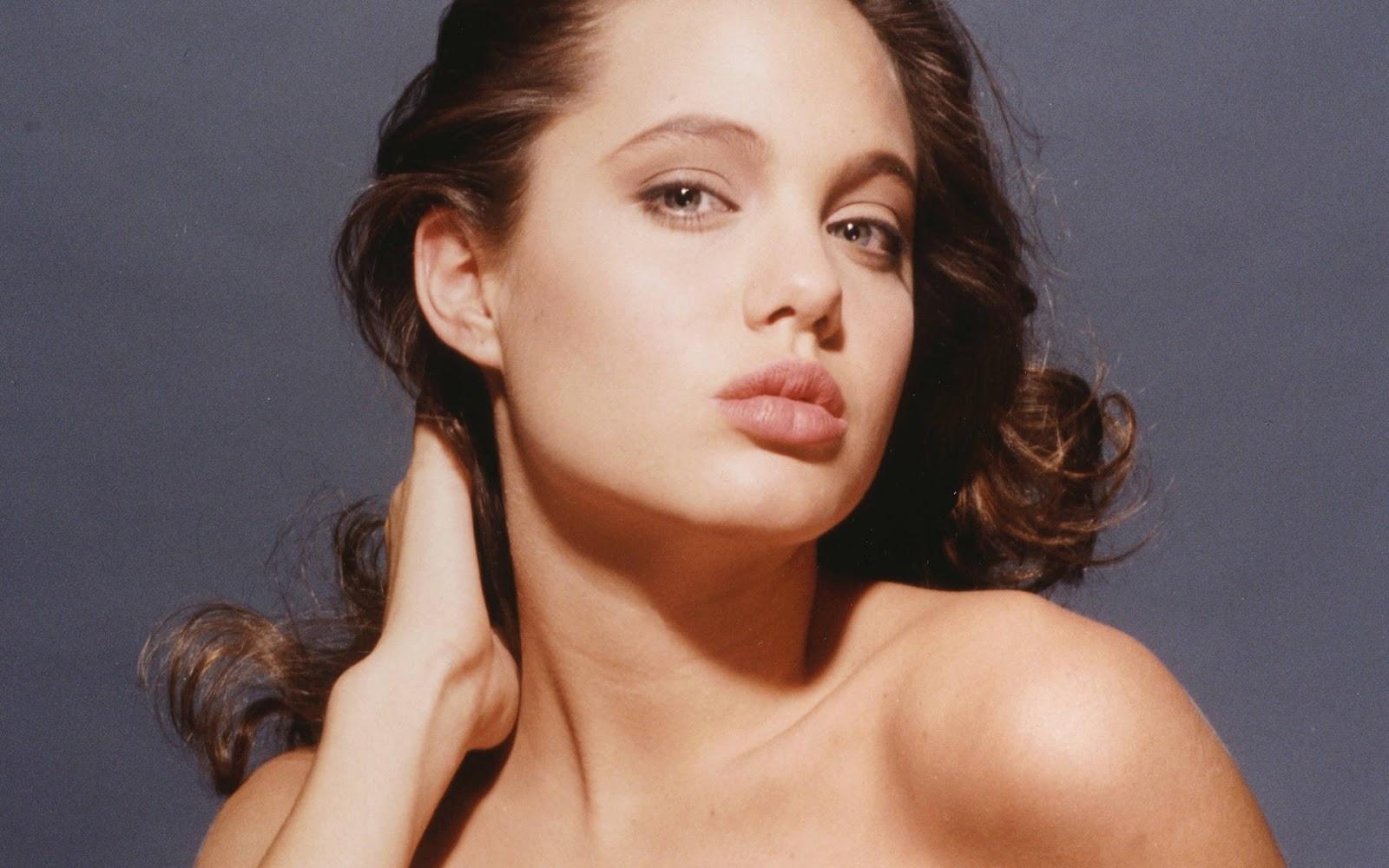 Angelina jolie bj