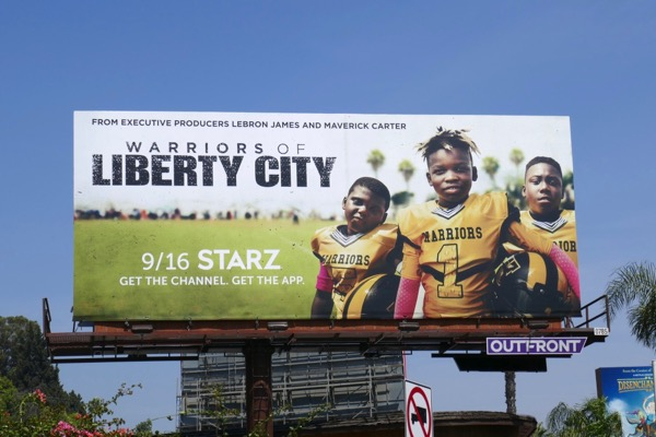 Warriors of Liberty City series billboard