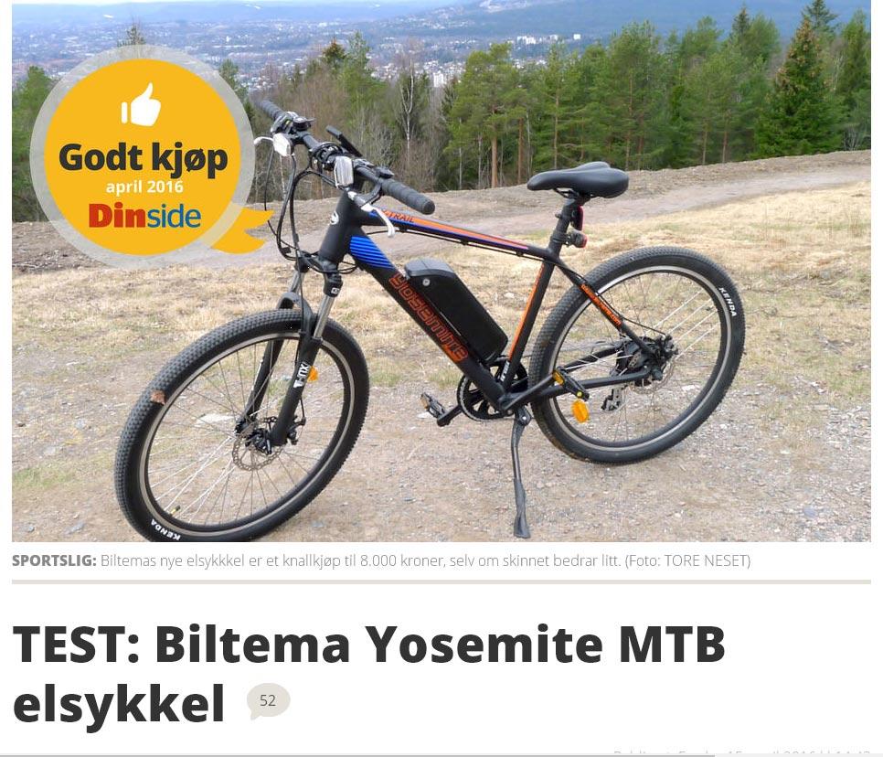 electric assistant bicycle blog biltema yosemite mtb test. Black Bedroom Furniture Sets. Home Design Ideas