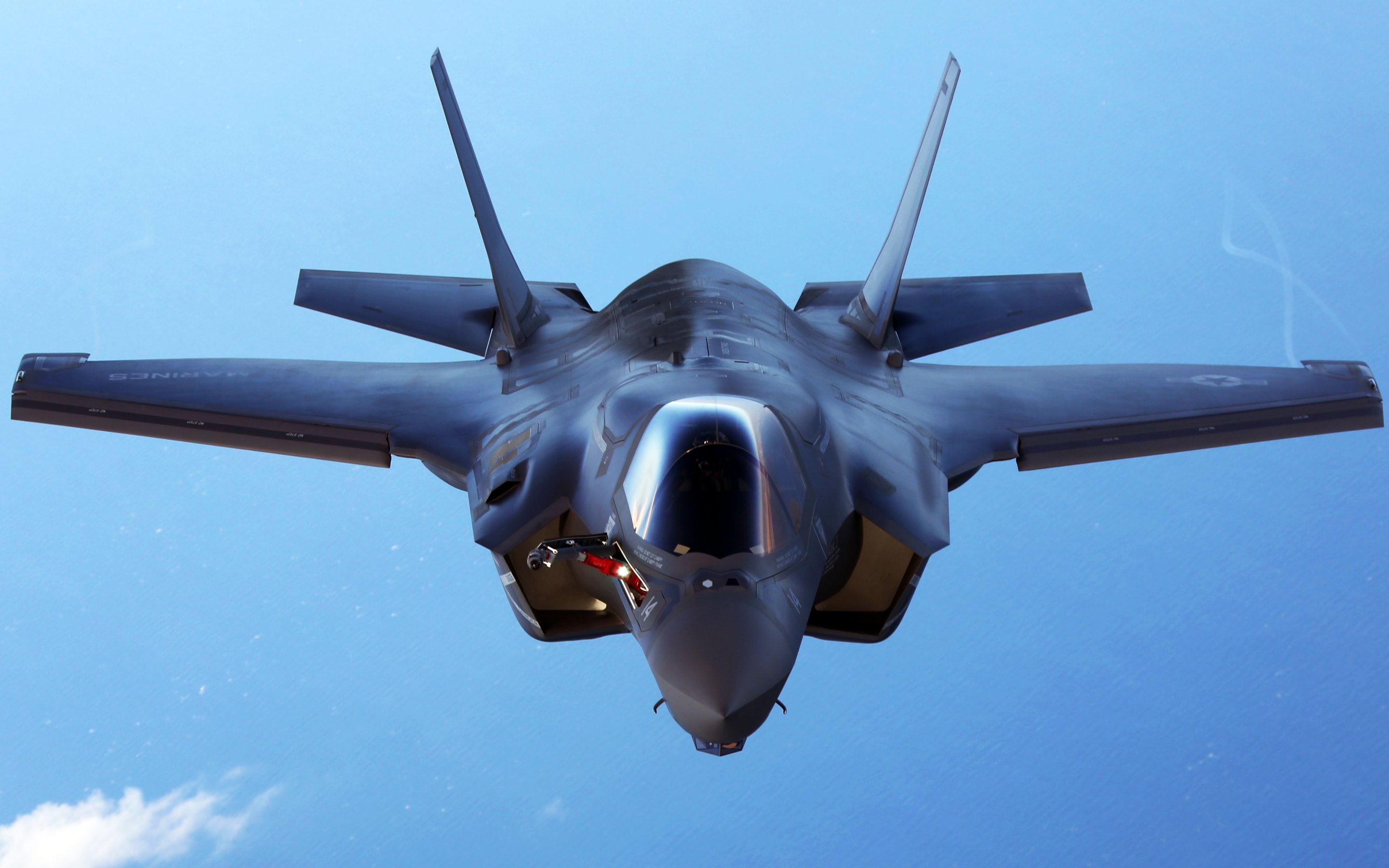 f 35b fighter aircraft wallpapers in hd 4k and wide sizes
