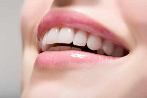 healthy and shiny teeth