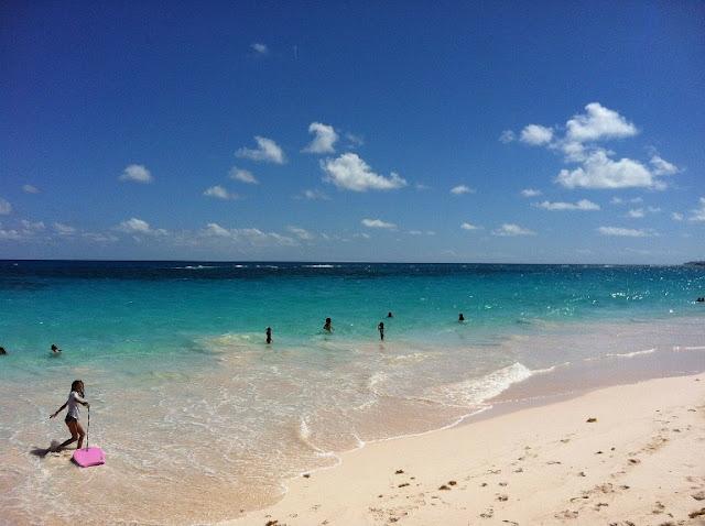 Bermuda Island, beach of Bermuda Island, North america island, Bermuda sea
