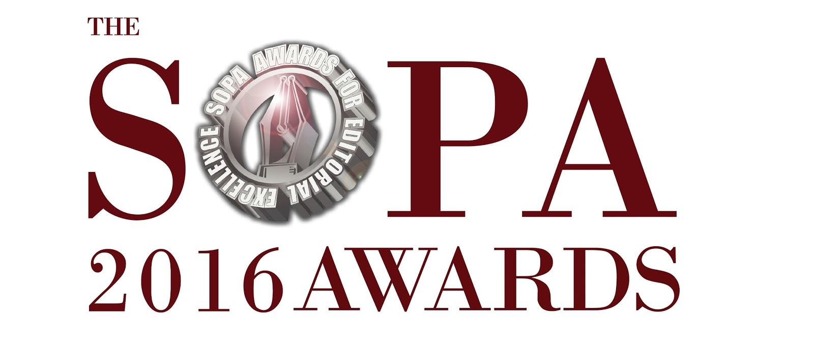 The SOPA 2016 Awards