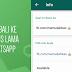 Cara Update Status WhatsApp Lama [Teks dan Emoji Saja]