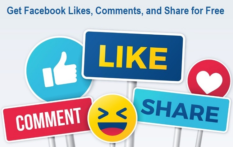 Get Facebook Likes, Comments, and Share for Free