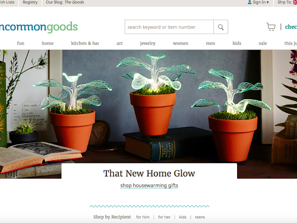UncommonGoods gift ideas for men and women