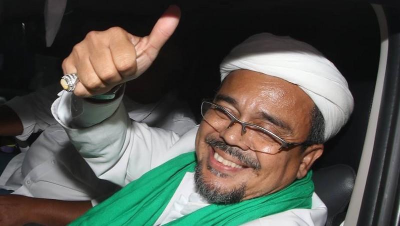 Imam besar FPI Rizieq Shihab