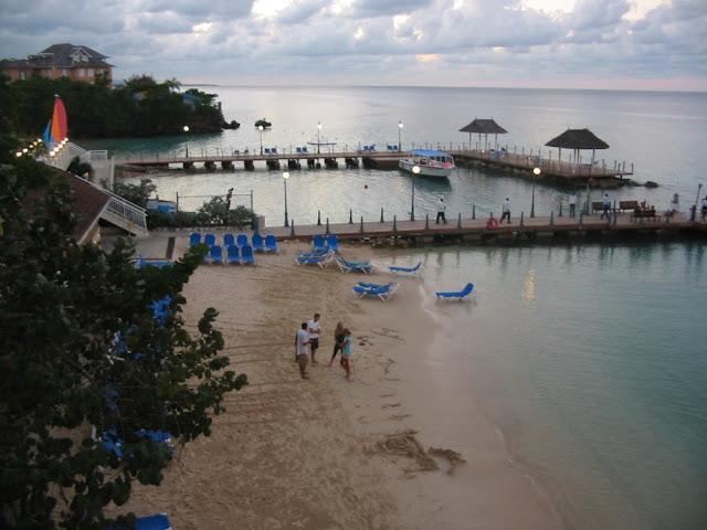 Jamaika - Strandbereich des Sandals