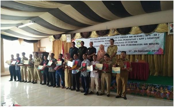 Program Air Bersih Dinas Kebersihan Dan Pertamanan Kabupaten Bogor 235