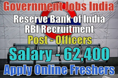 Reserve Bank of India RBI Recruitment 2018
