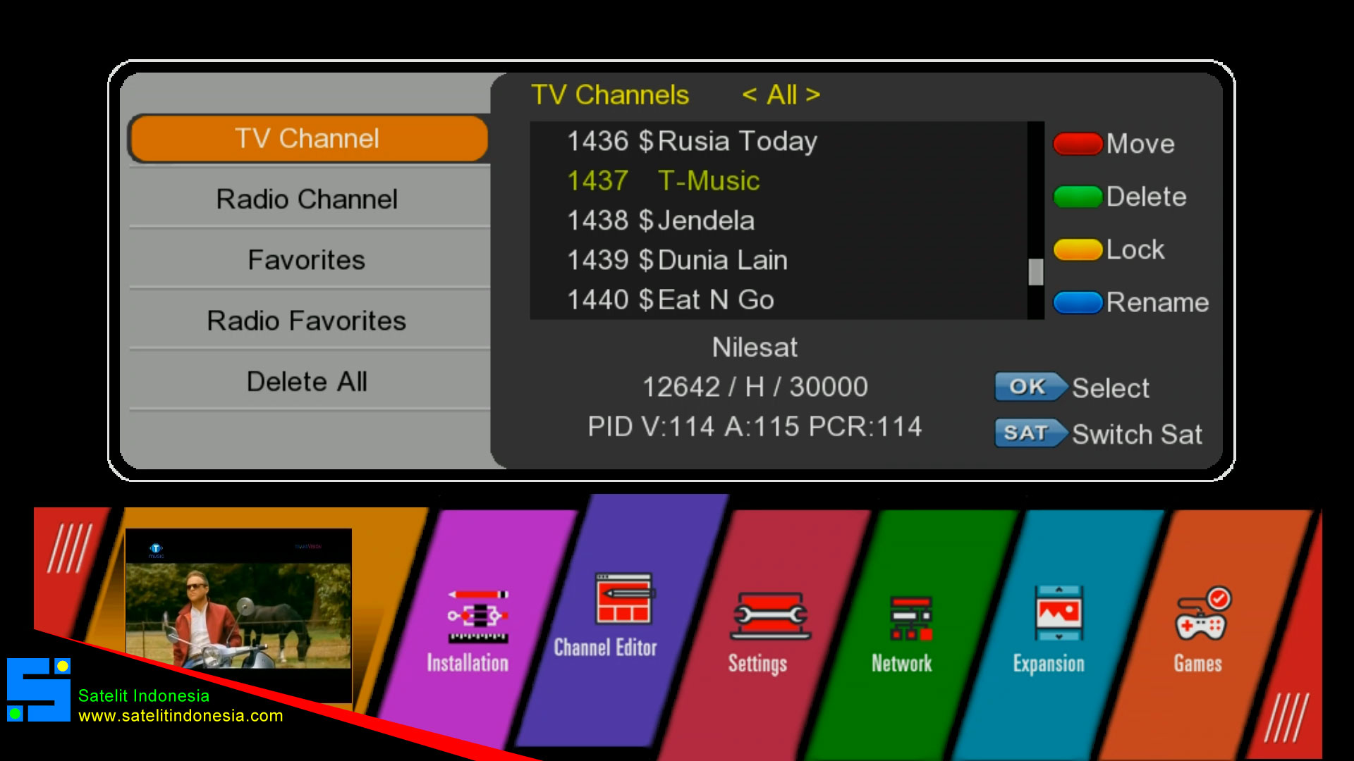 Download SW Starsat GX6605S GuoXin U38 HW203.00.001 New Software