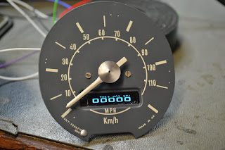 Doz' Blog: Classic Mini 1275GT Electronic GPS Speedometer