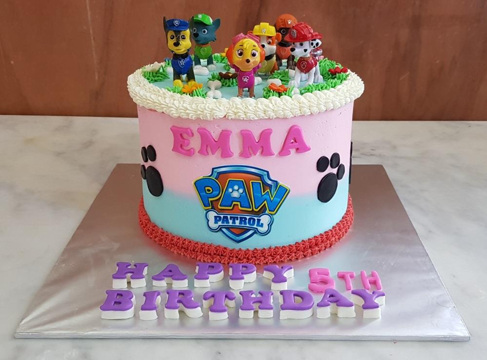 Yochanas Cake Delight Emmas 8th Birthday