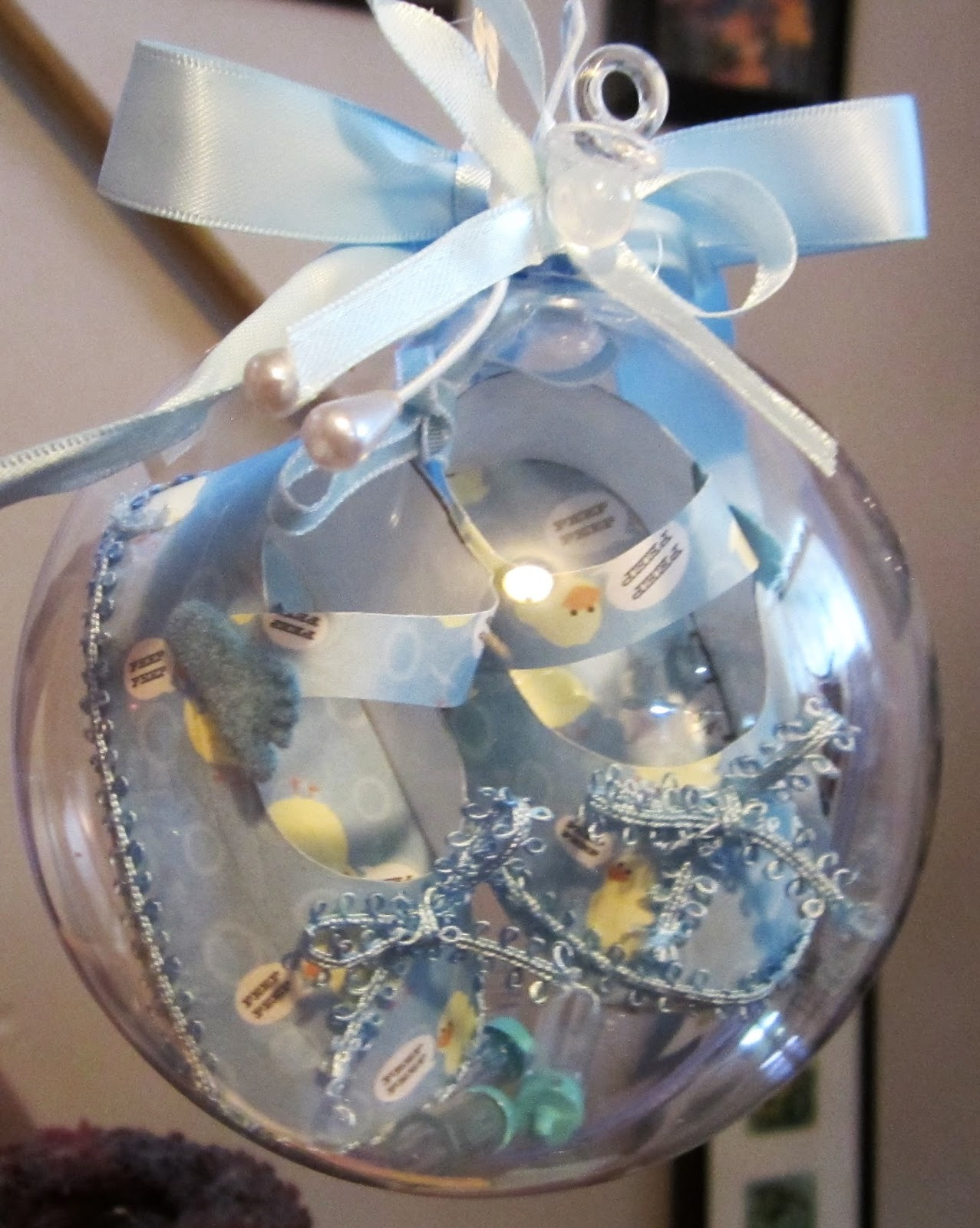 Baby Shoe Christmas Ornament Newest and Cutest Baby Clothing