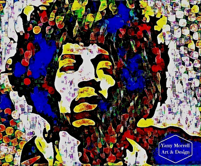 Jimi-Hendrix-colorful-digital-art-by-yamy-morrell