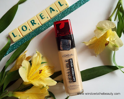 L'Oreal Paris Infallible Fresh Wear review opinion