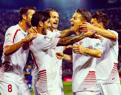 Crónica Sevilla FC 5 Vs Getafe CF 0