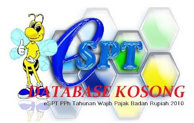 error database eSPT tahunan pph badan kosong