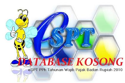Database eSPT Tahunan PPh Badan Kosong Saat Dipindahkan ke Komputer Lain