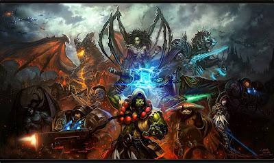 Resultado de imagem para 25 anos com a Blizzard Entertainment