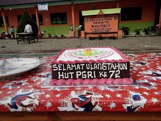 Kegiatan Hari HUT PGRI dan HGN di SD Rujukan 149/VIII Muara Tebo Tahun 2017