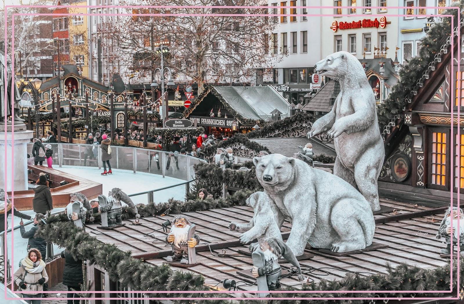 Ice Rink Heimat der Heinzel Cologne Christmas Market
