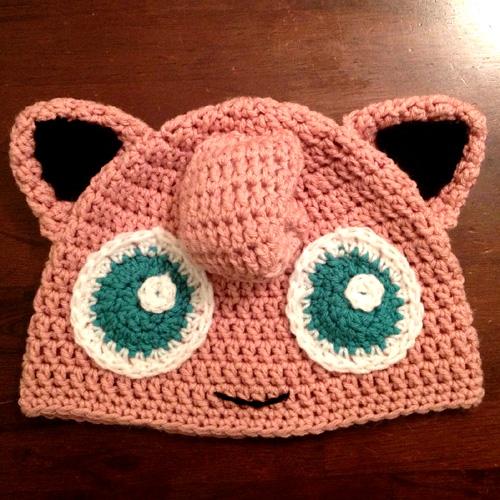 Pink Puff Beanie - Free Pattern