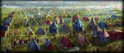Harry Potter e il Calice di Fuoco: Il campeggio