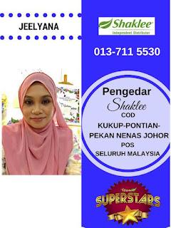 Pengedar Shaklee Johor Bahru : Jeely (013-7115530)