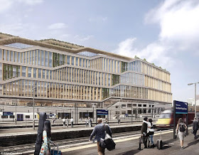 Google releases plans for its £1billion new London based Headquarters