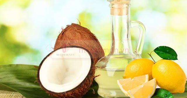Hướng dẫn cách trị thâm mụn bằng dầu dừa