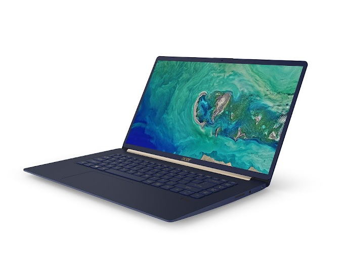 Acer Announces 15-inch Swift 5 Notebook Weighing Less Than 1 kg
