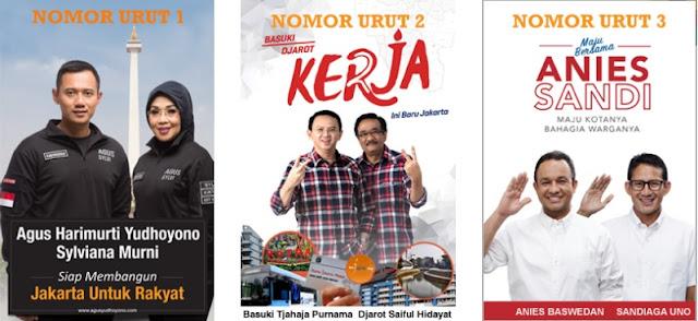 Hasil Pemilihan Suara DKI Jakarta 2017