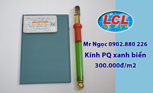Kính Phản Quang xanh biển LCL Glass